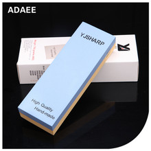 Adaee Russia Favourite Double Sides Sharpening Stone 2000 5000 Grit For Pruning Shear With Size 7.1*2.4*1.1