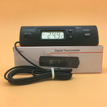 High Quality Digital Thermometer Auto LCD Display In Out Clock for Car Aquarium Thermometer