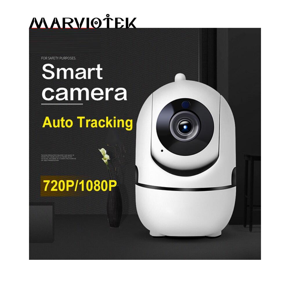 Radio inalámbrica niñera Mini cámara HD Video Vigilancia bebé CCTV Cámara WiFi bebé Monitor de visión nocturna niñera 720 P
