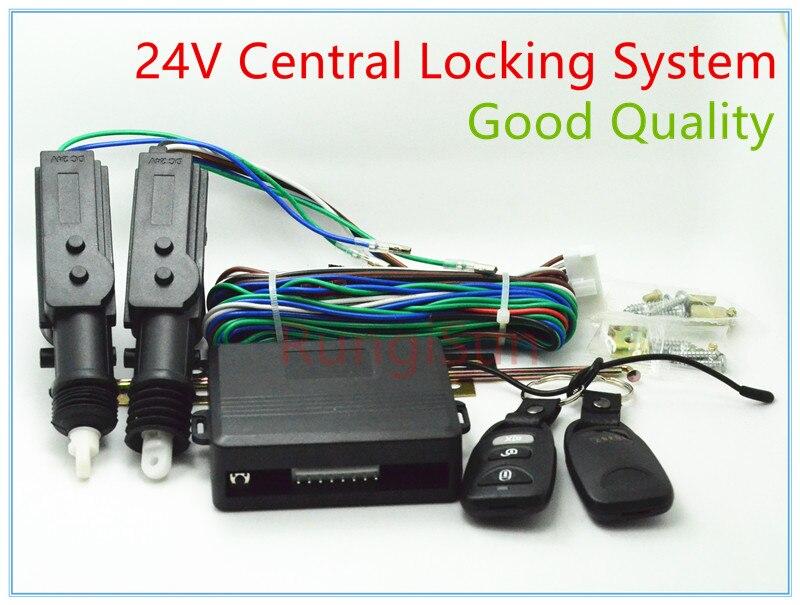 24 V camión sistema de bloqueo central 24 V DC actuador ventana contral remoto clave remoto