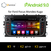 Ownice K1 K2 4G LTE Android 9.0 Octa 8 Core Car DVD Player GPS For FORD Mondeo S MAX Connect FOCUS 2 2008 2009 2010 2011 32G ROM