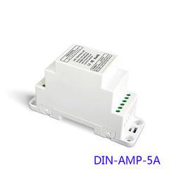 DIN-AMP-5A светодио дный CV усилитель мощности (на din-рейку, винт двойной Применение) LTECH