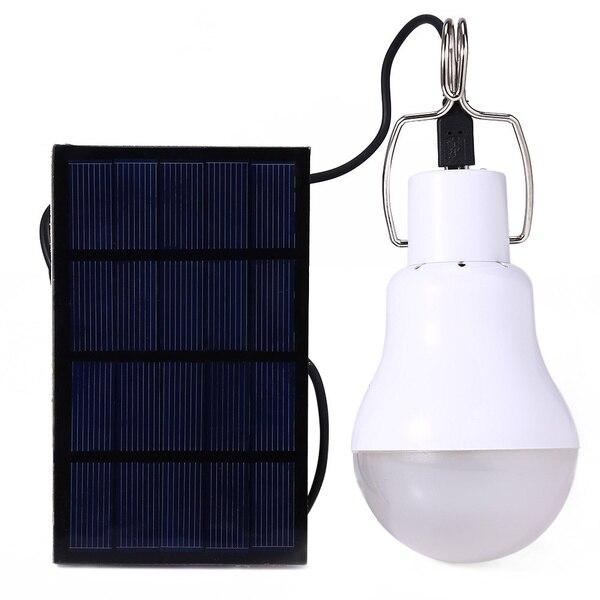 S-1200 15 Watt 130LM Tragbare Led-lampe Licht Aufgeladen Solarenergie Lampe (Farbe: Weiß)