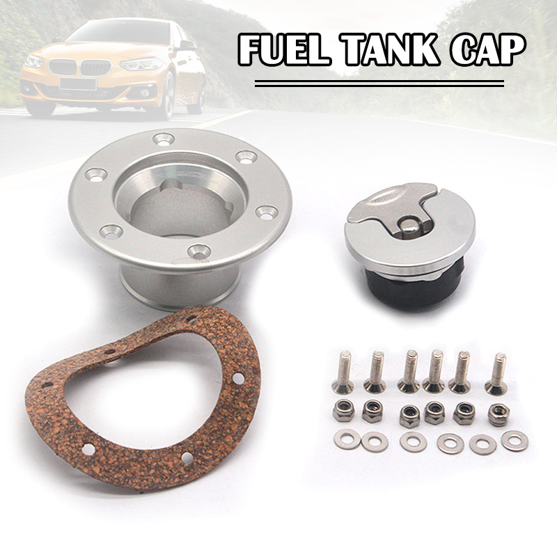 Alluminum Alloy Gas Fuel Tank Cap Door Gas Fuel Filler Cap Door Cover Bolt Mounting Race Rally Car Petrol Tank XR657