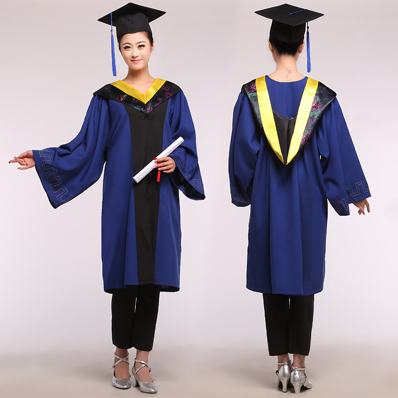 Aliexpress.com : Buy Master\'s Degree Gown Bachelor Costume and Cap ...