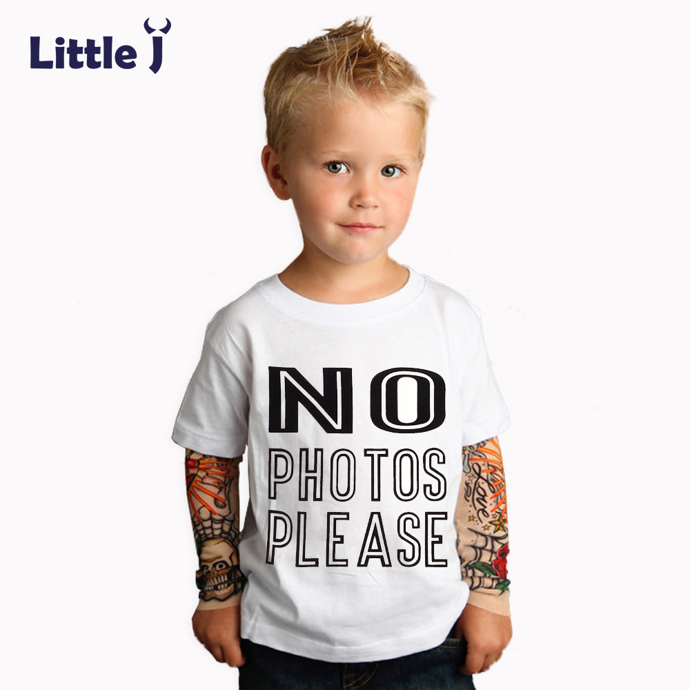 Little J Spring Cartoon Hip Hop Baby Boys T Shirt Thorns