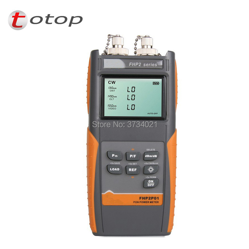 FHP2P01 Grandway PON Optical Power Meter for EPON GPON xPON, OLT-ONU 1310/1490/1550nmFHP2P01 Grandway PON Optical Power Meter for EPON GPON xPON, OLT-ONU 1310/1490/1550nm