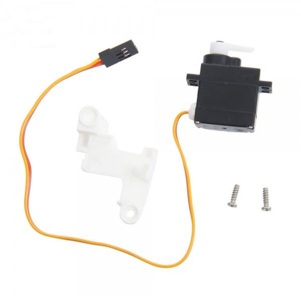 F15724 1 Kit Feilun FT009 RC Boat Speedboat Spare Parts Steering Gear Component Servo with Fixed Cover FT009-14 f15720 1set high quality feilun ft009 rc boat speedboat component spare parts receiver circuit board box ft009 9 fs