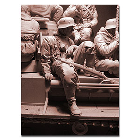 1/16 Resin Figures Model Kits Ww2 Unpainted And Unassembled  155G