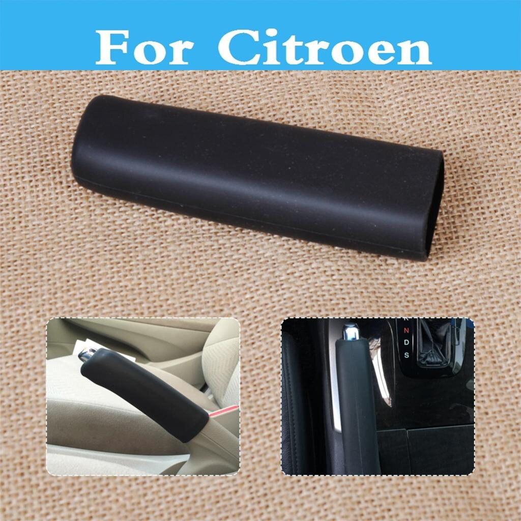 Car Carbon Fiber Style E Hand Brake Break Protector Decoration Cover Universal