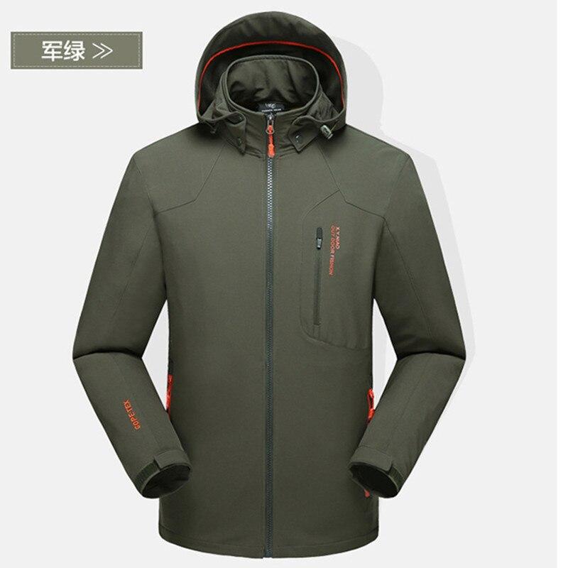 Original Windstopper Trekking Chaqueta Hombre Sportswear Coat Anti-wear Outdoors Spring Jacket Men Wicking Ripstop Veste Homme