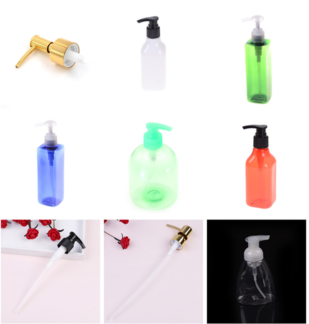1PCS Soap Pump Liquid Lotion Dispenser Replacement Jar Tube For Makeup Bathroom Travel Lotion Bottling Pump Bottles