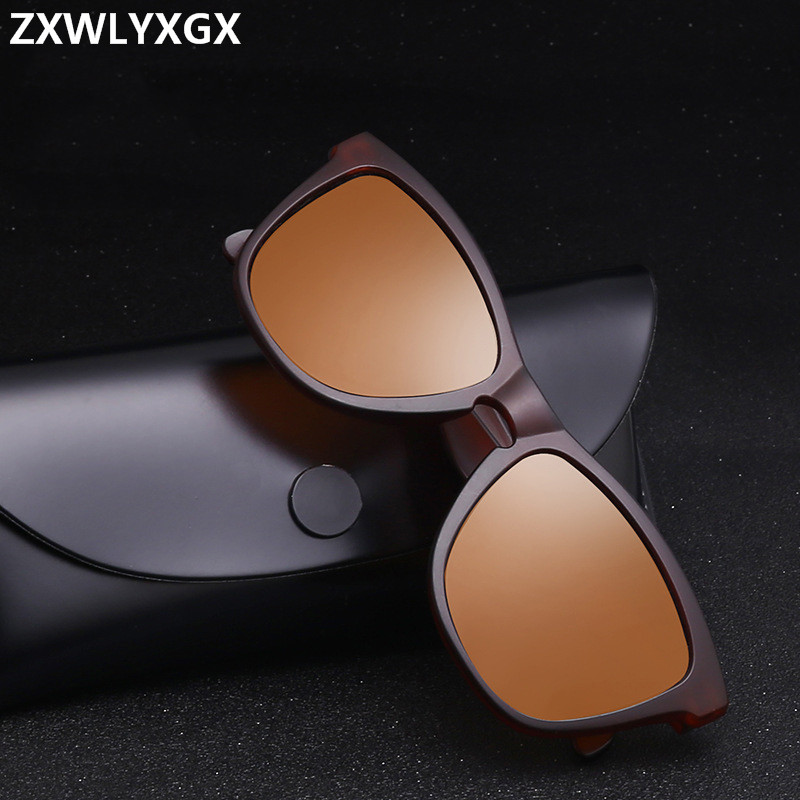 Sport Men Sunglasses Polarized Shockingly Colors Sun Glasses Outdoor Driving Photochromic Square Frame Sun Glasses UV400