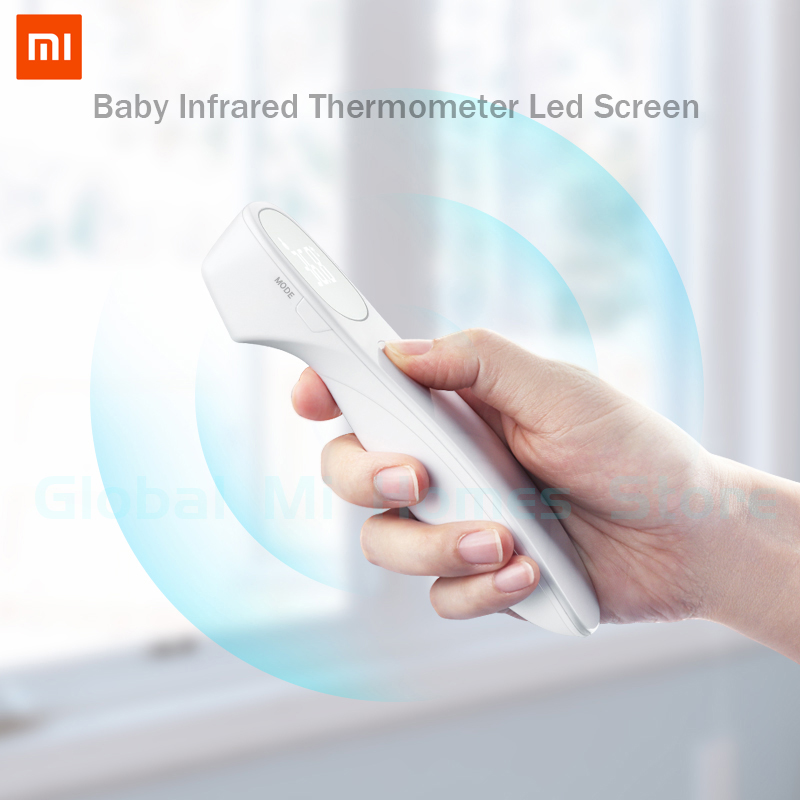 Global Version Xiaomi Mijia Thermometer LED Non-Contact Digital Infrared Forehead Body Thermometer For Baby Kids Adults Elders50