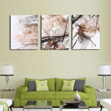 Nordic No Frame Posters and Prints Modern Sample Living Room Decoration Painting 3 Panel Canvas Unique Gift On Wall