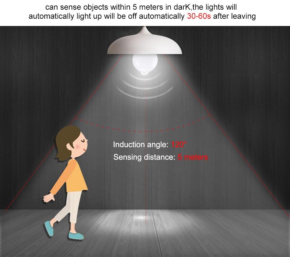 Smart PIR Motion Sensor LED Lamp Light (8)