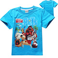 3-12Y The Secret Life of Pets Clothes T-shirt 2016 New Cartoon Tops Baby Kids Tshirt  Sport Children Clothing Girl Tops&Tees