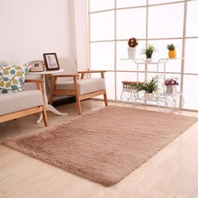 1 PC 80 X 120cm Soft Carpet Living Room Fluffy Rugs Anti Skid Shaggy Area