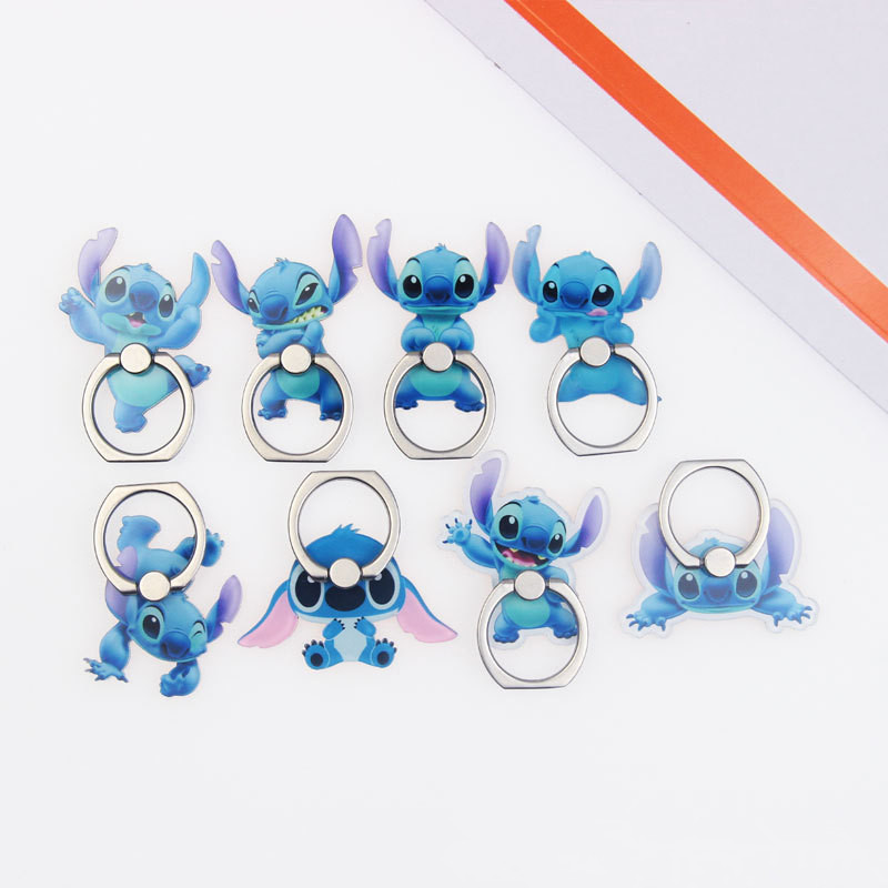 Animal-Holder Finger-Ring Mobile-Phone-Stand-Holder Stitch Smartphone Character Xiaomi