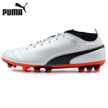 Original New Arrival 2017 PUMA ONE 17.4 AG Men's Football Shoes Soccer Shoes Sneakers