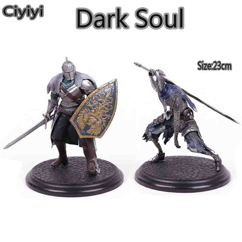 Souls III  Faraam Knight / Artorias The Abysswalker Anime Figure Toy Cartoon Dark Souls Model Display Toys Birthday Robot Gift dead souls