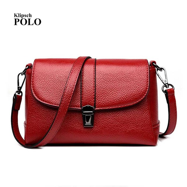 Hot Sale 2018 Fashion Women Messenger Bags Genuine Leather Crossbody Female  Shoulder Bags For Women Ladies eba17a6a82