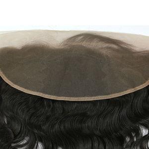 Image 4 - Extensiones de cabello humano ondulado con encaje Frontal brasileño, 13x4, Berrys, prearrancados