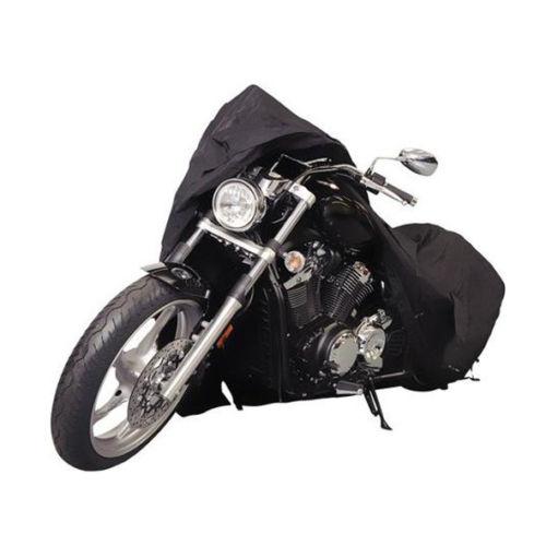 Black Motorcycle Cover For Honda Shadow ACE Aero Sabre Spirit VLX 600 750 1100 / Harley Softail Custom FXSTC Fatboy FLSTF