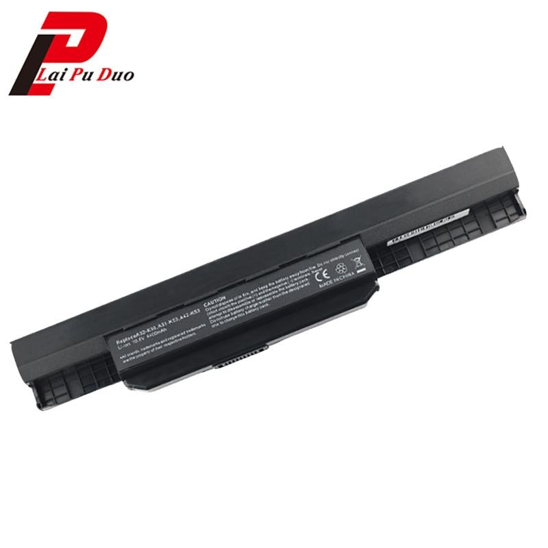 Nouveau pour Asus 6 cellules batterie 32-K53 A43E A53S K43E K43U K43S X54 X84 K53S K53 K53SV X54H K43SJ X54C K53T K53E K53SD X44H bateria