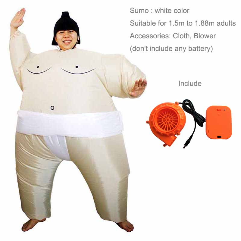 Halloween Costume Adult inflatable Sumo costumes carnival Christmas Cosplay party Dress For Kids and Adults Wrestler Costume -in Movie u0026 TV costumes from ...  sc 1 st  AliExpress.com & Halloween Costume Adult inflatable Sumo costumes carnival Christmas ...