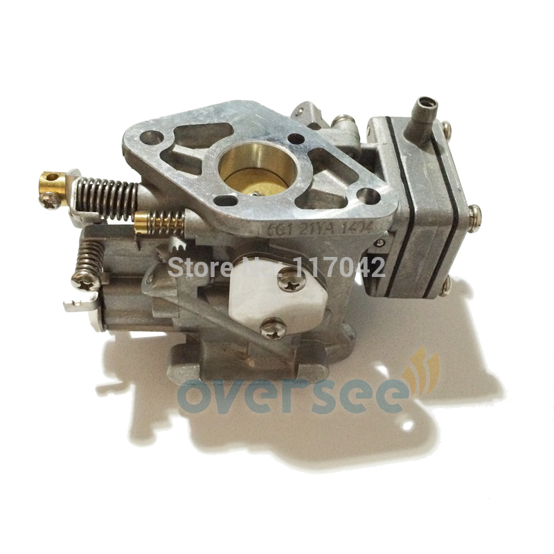 6G1-14301-01or 6N0-14301-10 Carburetor For Yamaha 8HP 2 Stroke Outboard Engine Boat Motor aftermarket parts 6G1-14301 цена и фото