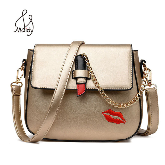 Strap Saddle Leather Shoulder Chain Bags For Women Messenger Handbags Famous Brands 2017 Tote Hasp Lock
