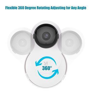 Image 5 - Için Yi ev kamerası Mi ev güvenlik kamerası Duvara Montaj, 360 Derece Döner Kamera Braketi Tutucu Standı için Mi/Yi Ev