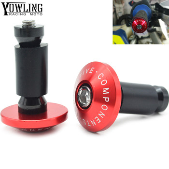Motorcycle brush Handle bar grips ends For HONDA CR CRF SL XR CRM 80 85 125 150 230 250 400 450 650 1000 R X AR M L image