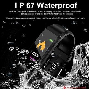 Image 3 - 新 2019 スマートブレスレットスポーツの Bluetooth リストバンド心拍数モニター腕時計活動フィットネストラッカー睡眠トラッカー PK Mi バンド 4