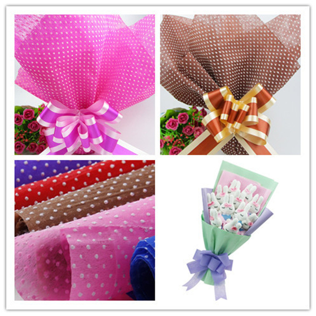 6060cm dot tissue paper wrapping fiber texture floral wraps flower 6060cm dot tissue paper wrapping fiber texture floral wraps flower wrapping paper 20pc mightylinksfo