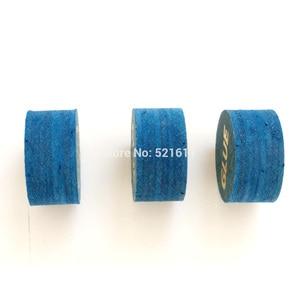 Image 5 - Xmlivet gratis verzending 10 stks ZAN 14 MM blauw professionele biljart keu tip S/M/H 8 lagen lederen biljart levert China