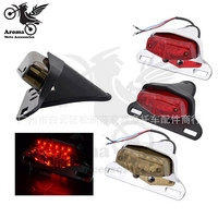 4 Colors Available Unviersal Moto Tail Light For Honda Suzuki Harley Yamaha Kawasaki LED Motorcycle Brake