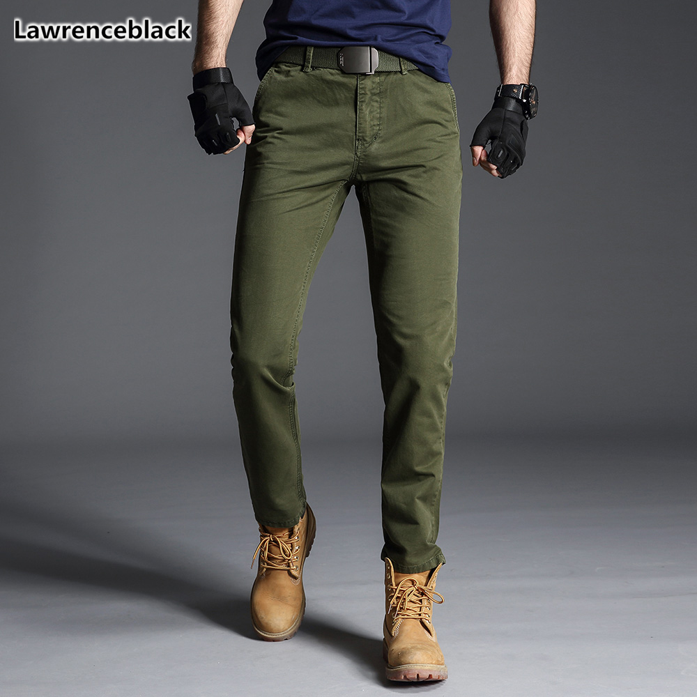 Men's pants 2019 Straight Casual Trousers For Men tactical pants men cotton military cargo pants Male Outdoors work wear 1682