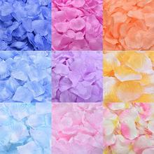 Wholesale 1000piese/lot New Romantic Artificial Silk Rose Flower Petals Wedding Decoration Fashion Fake RP01