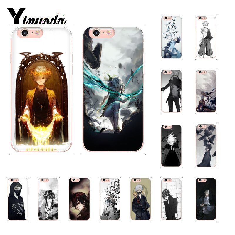 Yinuoda Japanese cartoon anime <font><b>boy</b></font> TPU Soft Rubber Phone Cover <font><b>for</b></font> <font><b>iPhone</b></font> 8 7 6 6S Plus <font><b>5</b></font> 5S SE XR X XS MAX 10 Coque Shell image
