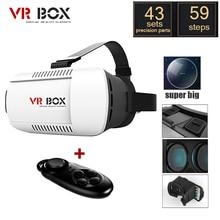 2016 Google CAJA de Cartón VR 3.0 Pro1.0 2.0 Versión de Realidad Virtual Gafas 3D + Smart Control Remoto Inalámbrico Bluetooth Gamepad