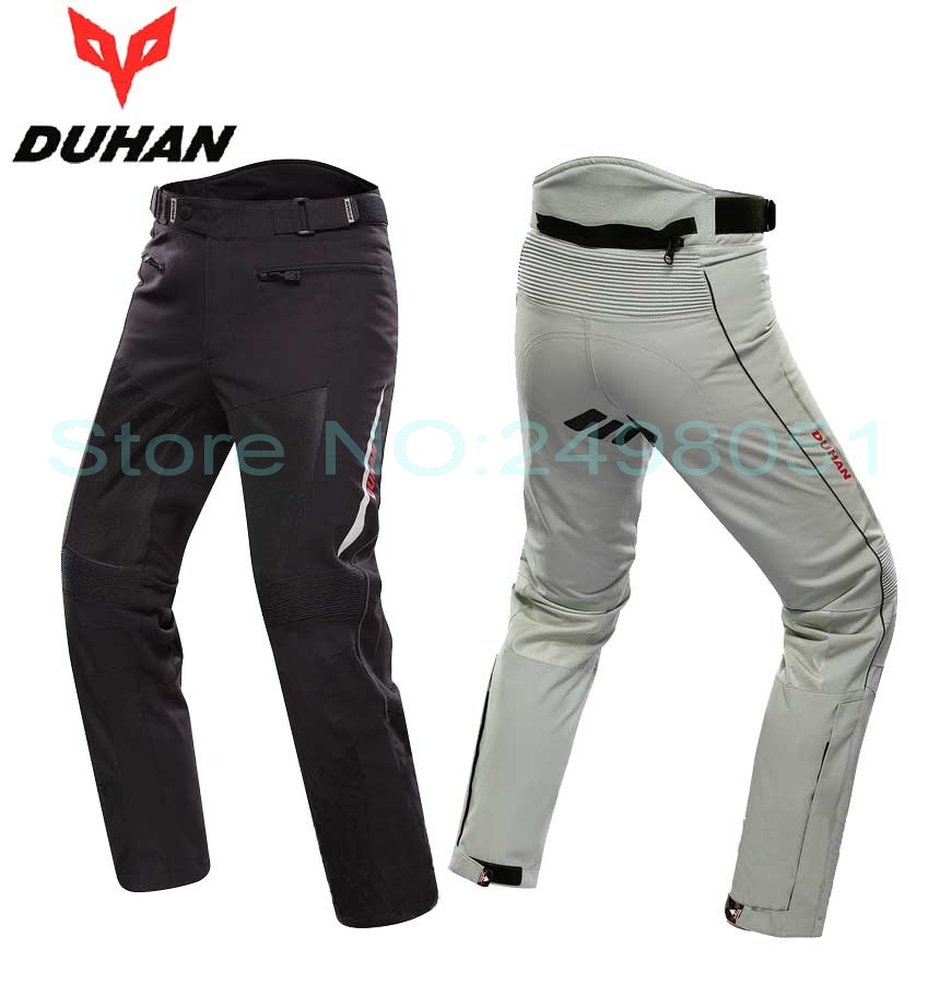Men DUHAN Moto Racing Pants DK-016 Motorcycle pants Knight riding pant Motobike riding trousers 2 colors size M L XL XXL