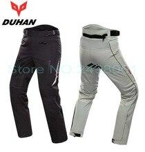 Mężczyźni spodnie duhan spodnie dk-016 moto wyścigi motocyklowe rycerz jazda Motobike konna pant spodnie 2 kolory rozmiar ML XL XXL