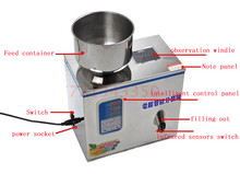 Medicinal powder packaging machine microcomputer automatic packer Tea granule tea leaf filling Free ship DHL