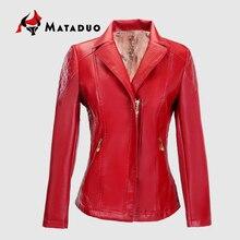 New Autumn Winter Women Pu leather jacket Short Washed PU Leather Jacket good Quality New Ladies Basic Jackets best selling