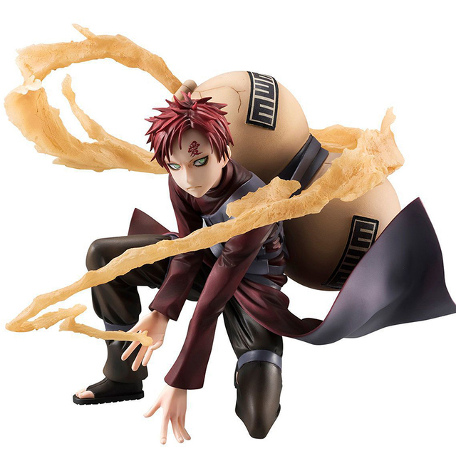 Naruto Shippuden Gaara of the Sand PVC Figure Collectible Model Toy 19cm