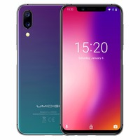 Umidigi ONE 5.9fullsurface 4GB 32 ROM Mobile phone Helio P23 Octa Core Android 8.1 12MP+5MP Dual Cam Fast charging Cell phone