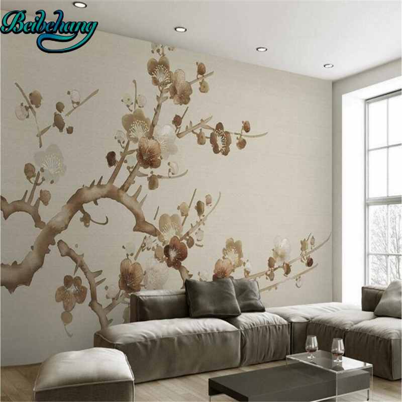 online buy wholesale chinese wallpaper murals flower birds from