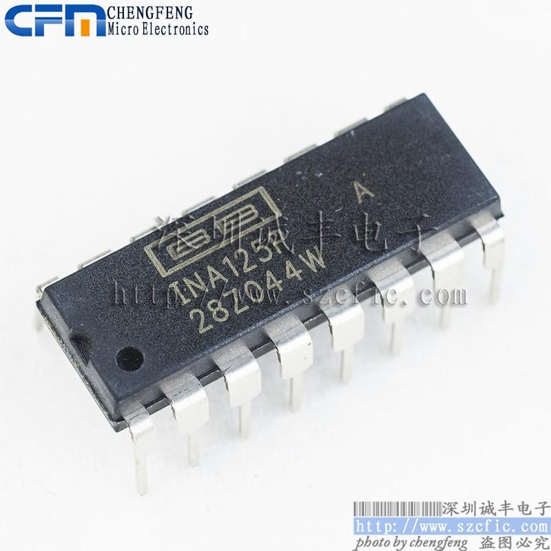 все цены на  Module  INA125PA INA125 DIP Original authentic and new Free Shipping  онлайн